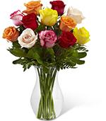 The Enchanting Rose Bouquet